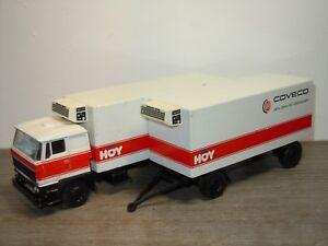 Daf-2800-Truck-amp-Trailer-Coveco-Vleeswaren-Lion-Car-65-73-Holland-1-50-33979