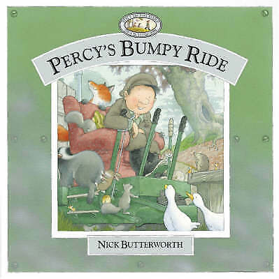 """""""VERY GOOD"""" Percy's Bumpy Ride (Collins picture lions), Butterworth, Nick, Book"""