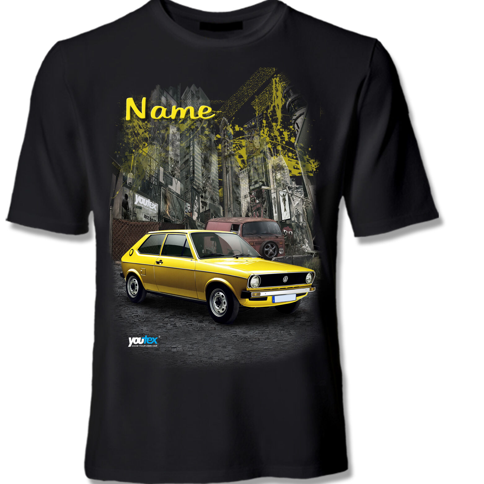 Polo 1 VW Tuning T Shirt Shirt T-Shirt original YOUTEX
