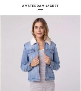 Jean Small Discussione e fornitura Sherpa Amsterdam Jacket wftzqU