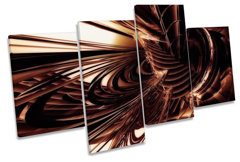 ASTRATTO DESIGN MODERNI MODERNI MODERNI MULTI canvas arte muro pannello incorniciato 21d09a