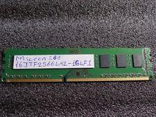 Micron MT16JTF25664AZ-1G4F1 DDR3-1333 PC3-10600U RAM 1x 2GB #R7042 <