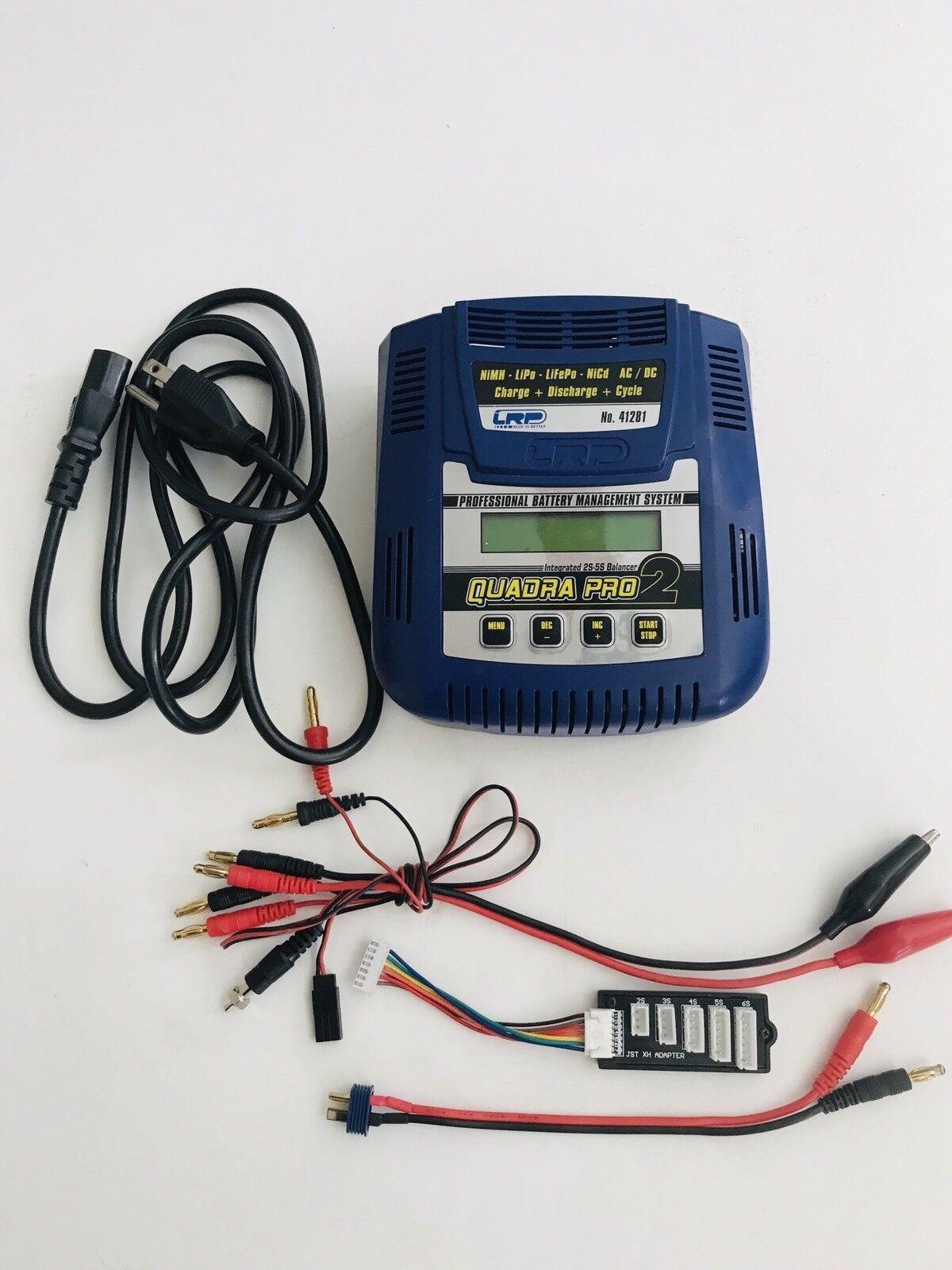 LRP QUADRA Pro-2 Profesional Batería Cargador lithium-ion polímero-NiCd-NiMH-LIFe