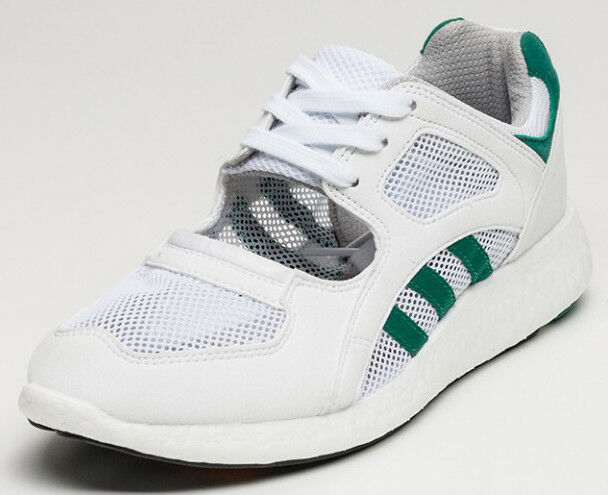 UK SIZE 12.5 - adidas ORIGINALS EQUIPMENT RACING 91 TRAINERS - WHITE The latest discount shoes for men and women