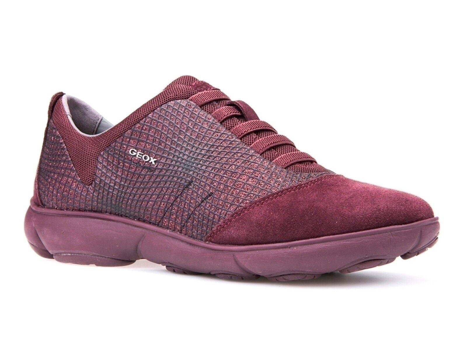 chaussures femmes GEOX INVERNO D741EA 09L22 C7357  NEBULA DK BURGUNDY