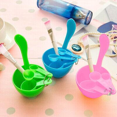 4-in-1 DIY Facial Face Mask Bowl Brush Spoon Stick Skin Care Make ...