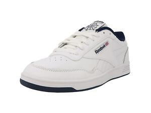 REEBOK-Club-Memt-Memory-Tech-Classic-White-Navy-Blue-Athletic-Sneakers-Men-Shoes