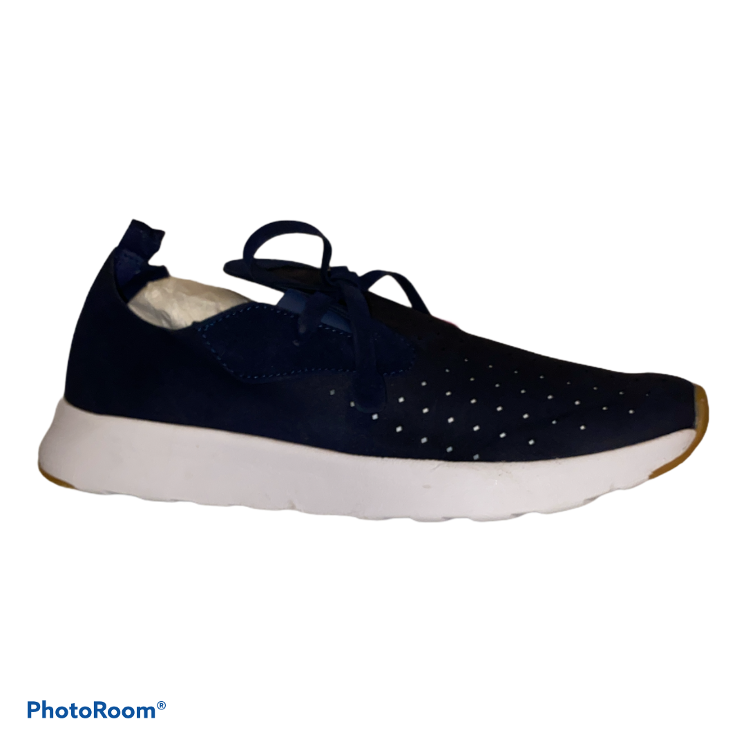 Sugar Gizmo Navy Perforated Slip-on Sneakers Women's Shoes Size 9 M NWT NWD