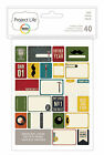 Becky Higgins PROJECT LIFE DAD 40-PACK Themed Cards scrapbooking 380250