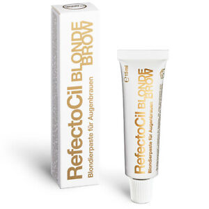 33-00-100ml-RefectoCil-EYEBROW-COLOUR-AND-Wimpernfarbe-15-ML-Blonde-0-Blo