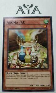 YUGIOH 3X AROMA JAR 1st ED CORE-EN038 COMMON NM CARD