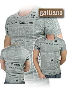 Man New 100 Collection Uomo Originale Maglietta Galliano T John shirt Men q8RPTP