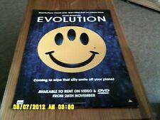 Evolution (an ivan reitman film) Movie Poster A2
