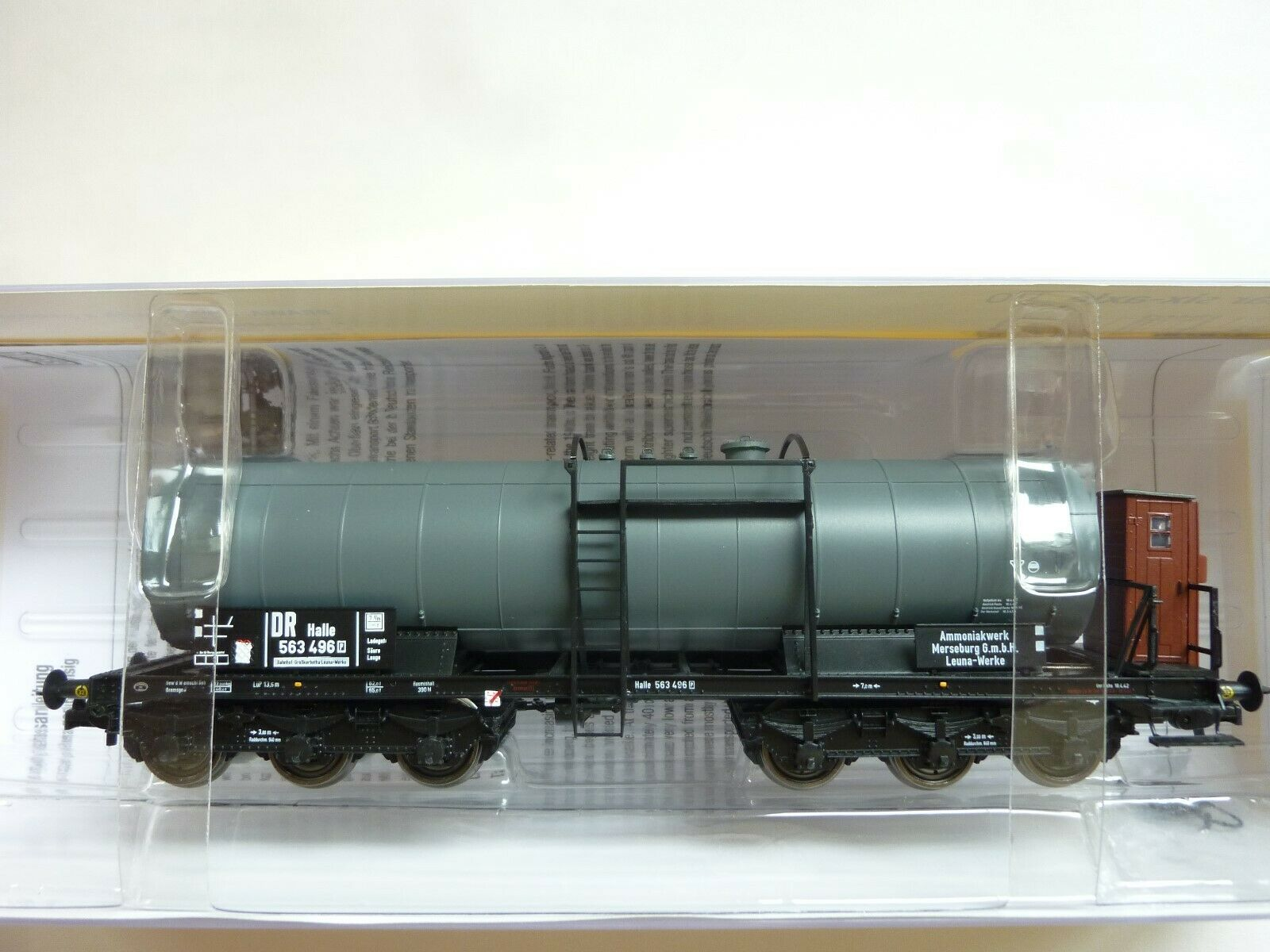 Brawa 48528  Tank voitures Leuna DR  haute qualité et expédition rapide