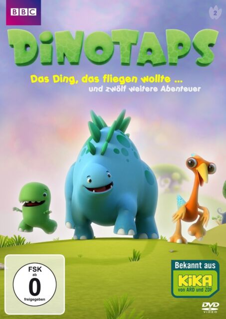 DINOTAPS:DAS DING,DAS FLIEGEN WOLLTE ...UND ZWÖLF WEITERE ABENTEUER  DVD NEW