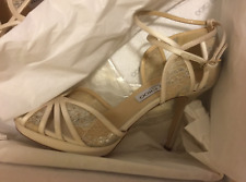 216296a76cf item 2 Jimmy Choo Fayme White Satin Lace Platform Ankle Sandal Shoes Fable  Size 7   37 -Jimmy Choo Fayme White Satin Lace Platform Ankle Sandal Shoes  Fable ...