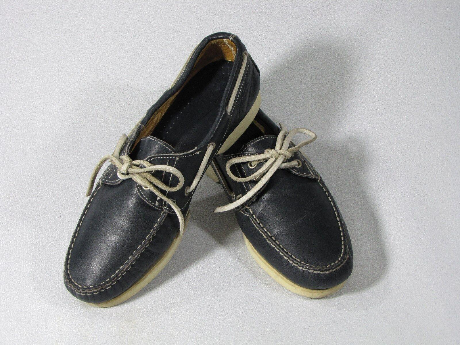 Vintage Allen Solly Boat shoes made in  - men's size 10 med, in Dark bluee