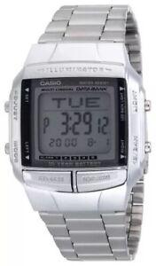 BRAND-NEW-CASIO-STEEL-DATABANK-WATCH-DB360-1AV-RRP-59-UK-SELLER