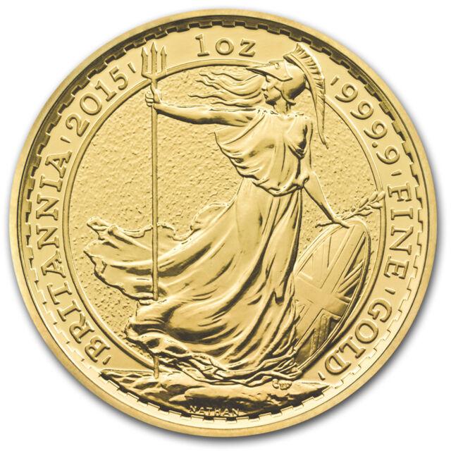 2015 Great Britain 1 oz Gold Britannia BU - SKU #86220