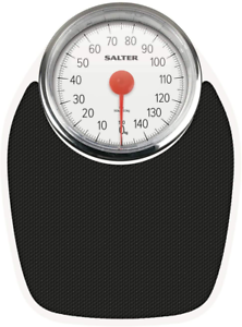 Black Accurate to Salter Doctor Style Mechanical Bathroom Scales Retro White