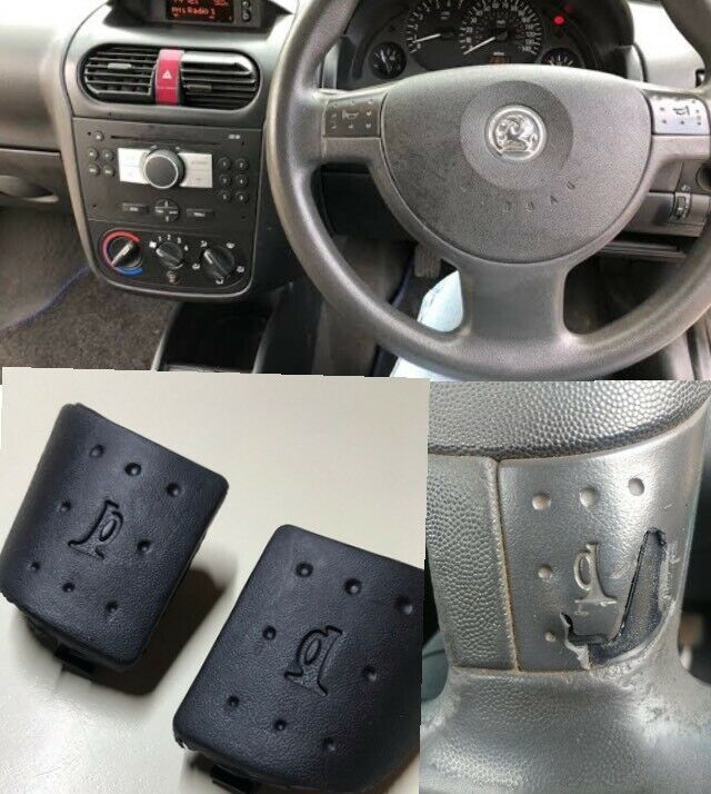 Opel Corsa Hooter pads: no more terrible looking steering wheels with holes