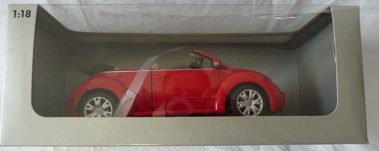 AUTOart Gate 1 18   VW New Beetle Cabrio Rot uni (01283), OVP