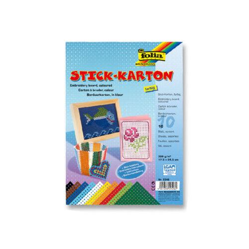 17,5x24,5cm Stickkarton 300g//m²