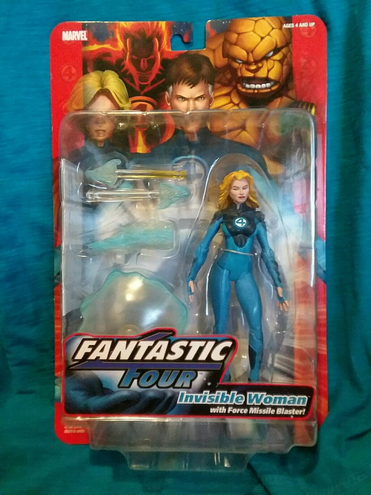 INVISIBLE WOMAN Sue Storm Fantastic Four classics Marvel Legends 6  Figure NEW