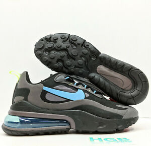 Nike Air Max 270 React Men S Running Training Shoes Black Grey Ci3866 001 Nib Ebay