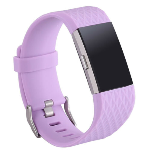 FOR Fitbit CHARGE 2 Replacement Silicone Rubber Bands Strap Wristband BraceletYR
