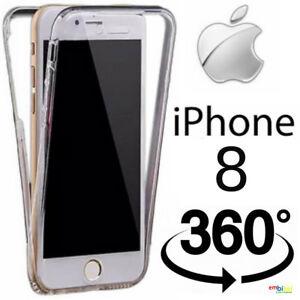 Custodia-per-Apple-IPHONE-8-Cover-Fronte-Retro-360-Full-Body-Touch-Silicone