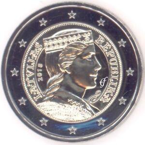 Lettland 2 Euro Münze Kursmünze 2018 Ebay