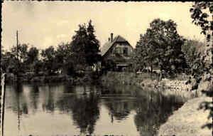GERNRODE-Harz-1956-Partie-an-der-Bueckemuehle-Muehle-alte-DDR-Postkarte-ungelaufen