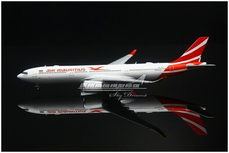 1 400 JC Wings Air Mauritius Airbus A330-900 Modelo Diecast avión de pasajeros