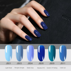 BORN-PRETTY-Blue-Series-UV-Gel-Nail-Polish-Navy-blue-Soak-Off-Gel-6ml