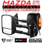 BettaView-Extendable-Caravan-Towing-Mirrors-MAZDA-BT50-2012-18-With-Ind-BLACK thumbnail 1
