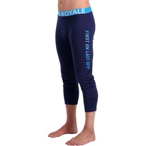 Mons Royale Homme Shaun-off 3//4 Leggings Pantalon Pantalon-Bleu Marine