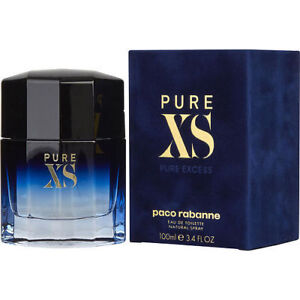 Pure Xs Paco Rabanne Cologne For Men Eau De Toilette 34 Oz 100ml