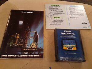 SPACE SHUTTLE by ACTIVISION for Atari 2600 ▪︎ CARTRIDGE and MANUAL ▪︎