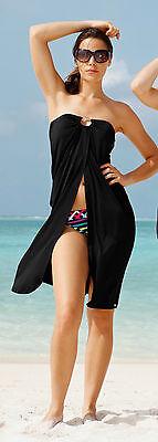 EXKLUSIVES Multi-Style-Strandkleid Gr. 36 von OLYMPIA! Schwarz NEU!