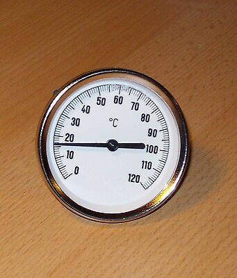 PRE Zeigerthermometer mit Tauchhülse für Pufferspeicher, Kombispeicher, Speicher