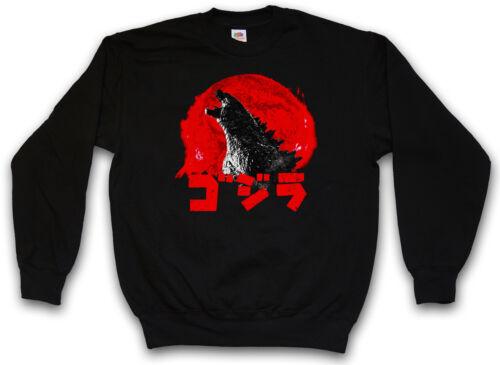 Godzilla Felpa-Tokyo mostro giappone PACIFIC RIM KAIJU Mech Felpe Pullover