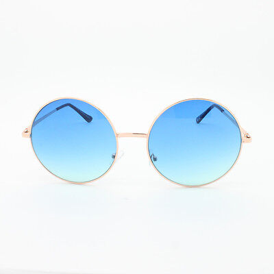 Oversized Hippie Fashion Retro Large Round Lennon Ladies sunglasses