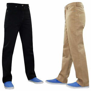 Men-Denim-Cotton-Jeans-Skaters-Designer-Regular-Fit-Straight-Leg-Trousers-Pants