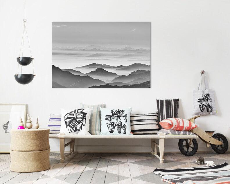 3D Der Himmel Berg 43 Fototapeten Wandbild BildTapete AJSTORE DE Lemon