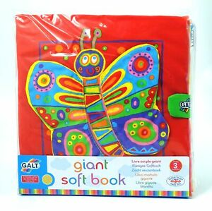 Baby-Activity-Book-Giant-Educational-Toy-Fabric-Pages-Crinkle-Texture-3m-Galt