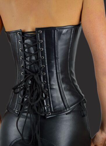 AW-1212 echt Leder Korsagen,vollbrust Korsett Corsage,Oberteil,corset