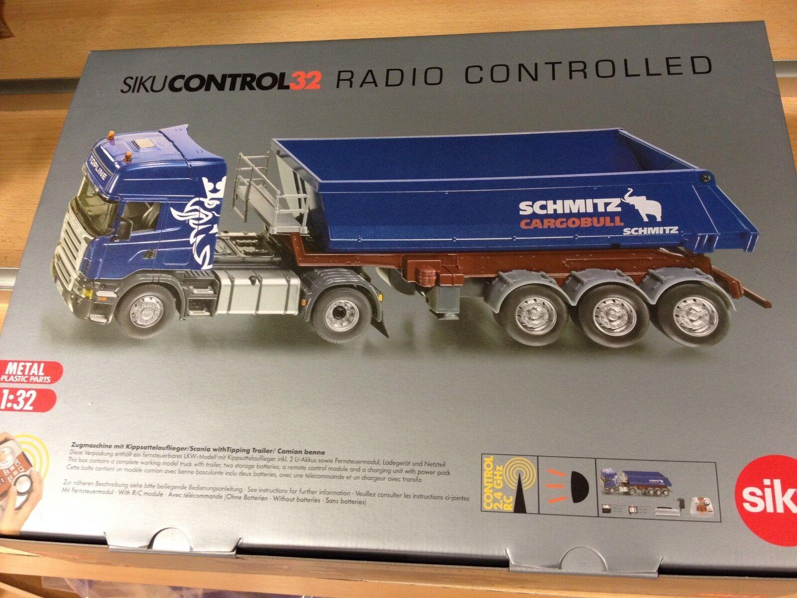 Siku 6725 Camión Scania Basculante R.C. 1 32