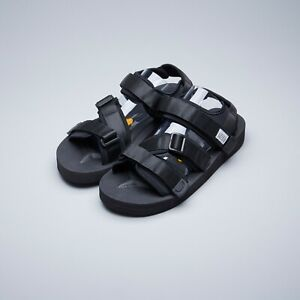 456396e8475 Suicoke OG-044V / KISEE-V Black Nylon Vibram Sole Sandals Slippers ...