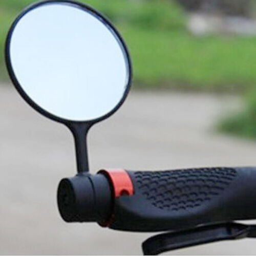 Cycling Bike Bicycle Handlebar Flexible Safe Rearview Rear View Mirror 360° New